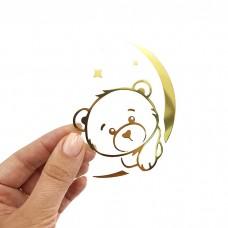 """Термотрансферная картинка """"Медвежонок на луне"""""""