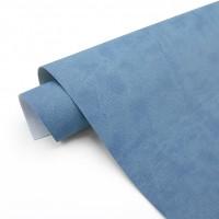 УЦЕНКА Джинсовый переплетный кожзам (экокожа) 50*35см, светло-синий