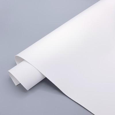_Переплетный кожзам (экокожа) Soft Touch, белый 48*35