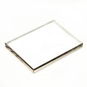 Акриловый блок для штампов, 7,5*5 см