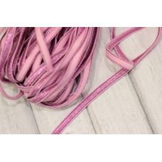Резинка широкая 7мм, розовая, ярд
