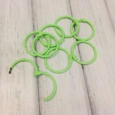 Кольцо для альбома 30мм, зефирно-зеленое 1шт
