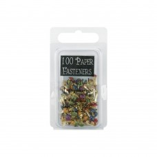 Набор брадсов Mini Painted Metal Paper Fasteners 3мм - Round - Matte Heritage, 100шт