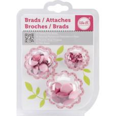 Набор Брадсов - Painted Brads - PINK, 54шт