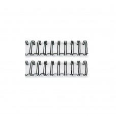 Пружины для биндера Cinch Черные d 1,59 см, длина 27,94см