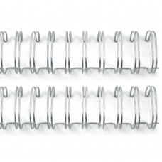 Пружины для биндера Cinch Серебро d 1,91 см, длина 27,94см