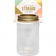 """Баночка для хранения """"Wire System Plastic Mason Jar"""" от Crate Paper"""
