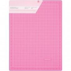 """Коврик самовосстанавливающийся """"Pink Double-Sided Self-Healing Cutting Mat"""", 17,7""""X23,5"""" от American"""