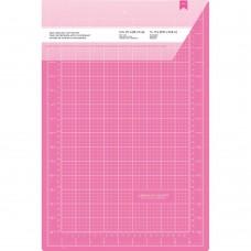 """Коврик самовосстанавливающийся """"Pink Double-Sided Self-Healing Cutting Mat"""", 11,8""""X17,7"""" от American"""