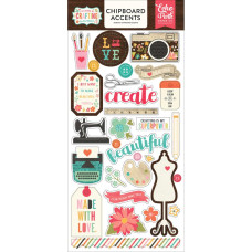 Чипборд - Id Rather Be Crafting Chipboard - Echo Park Paper