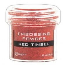 Пудра для эмбоссинга - Red tinsel (Красный блеск) - Embossing Powder - Ranger Ink