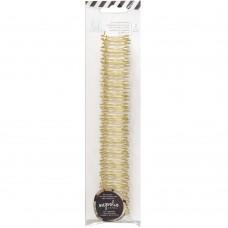 Пружины для биндера 1,9см - Heidi Swapp Journal Notebook Cinch Binding - Gold