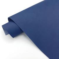 УЦЕНКА Джинсовый переплетный кожзам (экокожа) 50*35см, темно-синий