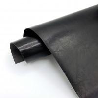 УЦЕНКА Глянцевый II переплетный кожзам (экокожа) 33*70см, черный
