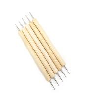 Набор двусторонних деревянных палочек Дотс для тиснения из 5шт