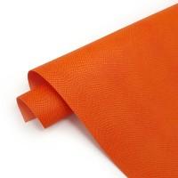 Переплетный кожзам (экокожа) тиснение питон 50*35см, сицилийский апельсин