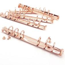Кольцевой механизм А6 d20мм, розовое золото