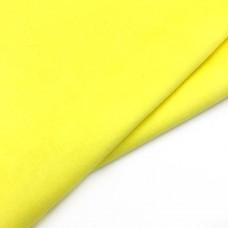 _Микрозамша 36*44 см., ярко-желтый 165