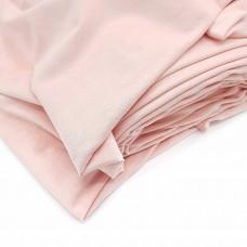 _Микрозамша II / 35х65 см., нежно-розовая