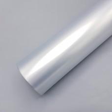 Винил / 50мкн / 25*25см / двусторонняя / жемчужное серебро