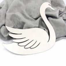 """Заготовка для тиснения """"Лебедь MAXI"""", 19*18 см"""