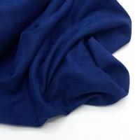 Двусторонняя замша 35*70, темно-синяя