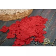 Гортензии Красные большие 5см