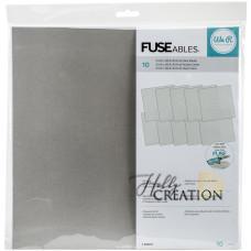 Прозрачные файлы We R FUSEables Fuse Clear Sheets, 10шт 30,5*30,5см