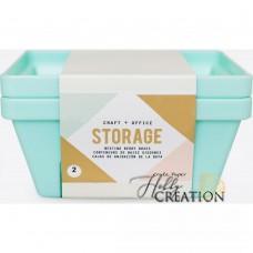 "Набор контейнеров ""Nesting Berry Containers "" от Crate Paper"