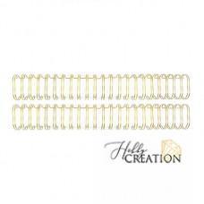 Пружины для биндера - WR - Cinch - Wire Binders - Gold (.625in), диаметр 1.58см