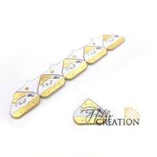Комплект светодиод Chibitronics + медная лента, желтый