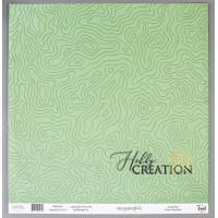 Бумага для скрапбукинга «Ландшафт», 30,5*30,5 см.