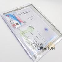УЦЕНКА Вкладыш-органайзер для документов / формат 26*19 / старый образец / на 3 комплекта документов
