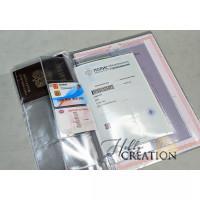 УЦЕНКА Вкладыш-органайзер для документов 140 мкн / формат А4 / на 4 комплекта документов + паспорт